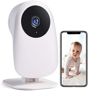 Nooie Baby Kamera WiFi, Babyphone 1080P und 2-Wege-Audio, mit Bewegungs- und..