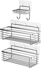 ODesign Shower Caddy Basket with Hooks Soap Dish Holder Shelf for Shampoo Conditioner..