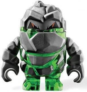 Rock Monster Boulderax (Trans-Green) - LEGO Power Miners Figure