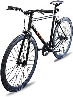 Caraci Fixed Gear Bike Fixer Bike Road Bike Alumium Alloy Urban Bike Flip Flop Hub City Bike Riser Bar 700c 54cm Single Speed