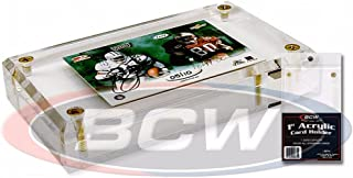 BCW 4スクリューダウン (1インチ) 面取り加工 クリスタルクリア
