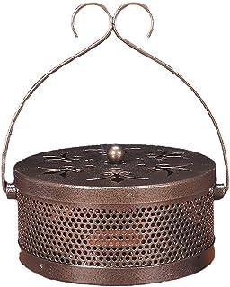 Takelablaze 鉄製 蚊取り線香入れ 蚊取り線香 ホルダー (古銅)