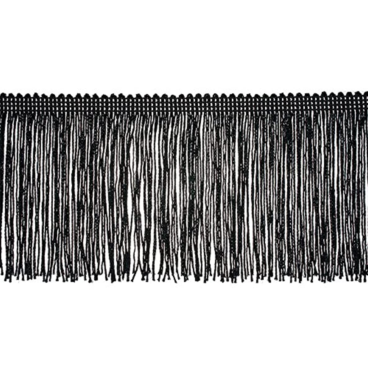 Decorative Trimmings 100% Rayon Chainette Fringe, 4