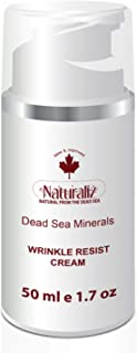 Naturaliz Dead Sea Mineral Anti Aging, Wrinkle Resist, Neck and Face Cream, 1.7 oz