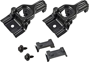 1983-1993 Mustang 5.0 Radiator Upper Mounting Brackets with Rubber Insulators