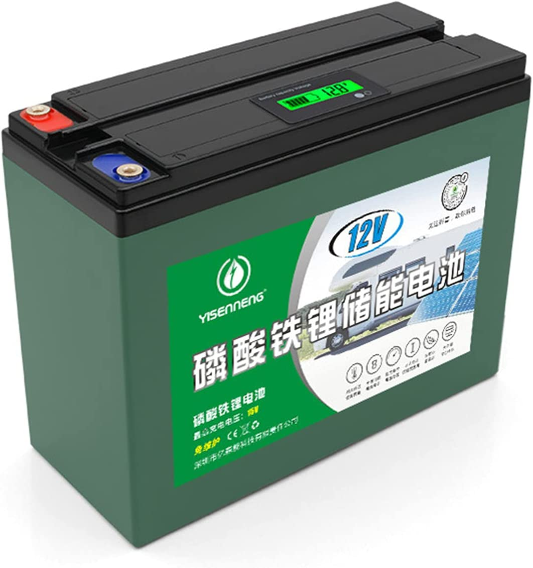 Bateria Solar Movil 12V, 36AH Bateria Solar Portatil Camping, voor RV, Zonne-Energie, Buiten, Elektrische Apparaten, Voeding, Schip