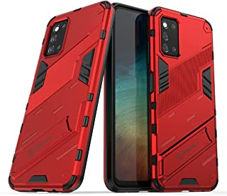 Boleyi Case for Huawei nova 8i, Full Body Shock Resistant Armour Cover, with Kickstand, Cover for Huawei nova 8i,(Red)