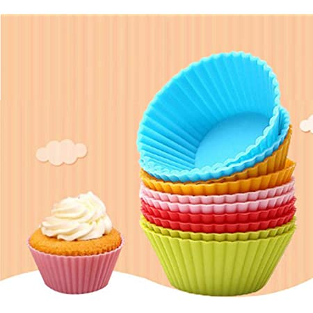 IBILI MOLDES Cupcake Silicona Mini 6 PC, Centimeters: Amazon ...