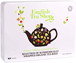 English Tea Shop Organic Luxury Collection White Tin 36ct, 69 g