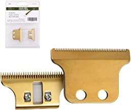 Cosyonall Professional T-Shaped Hair Clipper/Trimmer Standard Replacement Blade Set #2215-Compatible with Sterling Stylist and Sterling 5–Includes screws & cam follower (Gold)