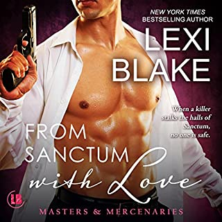 From Sanctum with Love     Masters and Mercenaries, Book 10              Auteur(s):                                                                                                                                 Lexi Blake                               Narrateur(s):                                                                                                                                 Ryan West                      Durée: 14 h et 50 min     4 évaluations     Au global 3,8