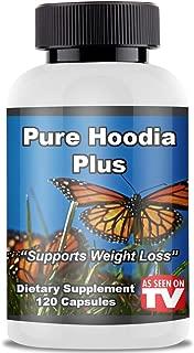 Pure Hoodia Plus - As Seen On TV - Weight Loss Pills - Hoodia Capsules Herb Appetite Suppressant Hoodia Gordonii Plant Capsules Cactus