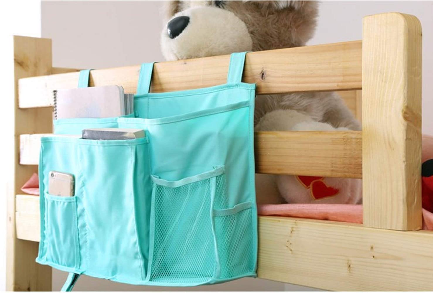 Max 60% OFF JINTN Arlington Mall Bedside Caddy Bed Organizer Noteb Hanging for Storage Bags