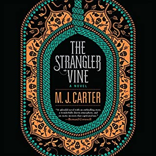 The Strangler Vine audiobook cover art