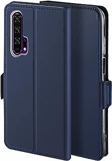 Libra_J Case for Honor 20 Pro Mobile Phone case, [Stand Function] [Card Slot] [Magnet] [Anti-Slip] Premium Leather Flip Case Cover for Honor 20 Pro Mobile Phone case (Blue)
