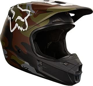 Fox Racing Camo Adult V1 Off-Road Motorcycle Helmets - Green Camo/X-Small