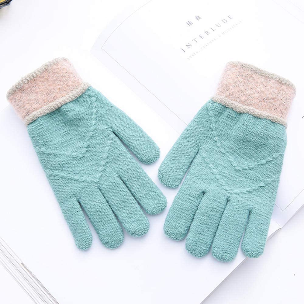 Women's Cold Weather Gloves Knitting against cold