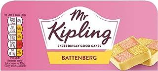 Bundle of 6 Mr Kipling Battenberg Whole Cake Delivers 3-5 Days USA