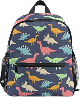 ISAOA Niño 3D caballo marrón niños mochilas Kinder preescolar niño niños/niñas mochila mochilas lindo (azul)