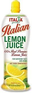 Italia Italian Lemon Juice 16.9 oz (Pack of 3)
