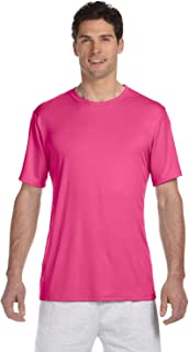 Mens Cool Dri With FreshIQ Performance T-Shirt - Wow Pink...
