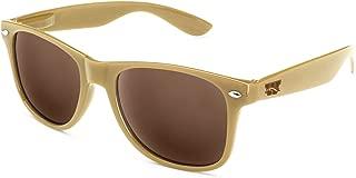 NCAA Western Michigan Broncos  WMU-1Gold-Go Western Michigan Broncos Sunglasses, Gold, One Size