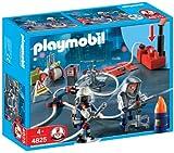PLAYMOBIL 626054 - Bomberos con Bomba De Agua