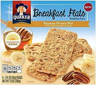 QUAKER Breakfast Flats, Banana Honey Nut, 7 Ounce