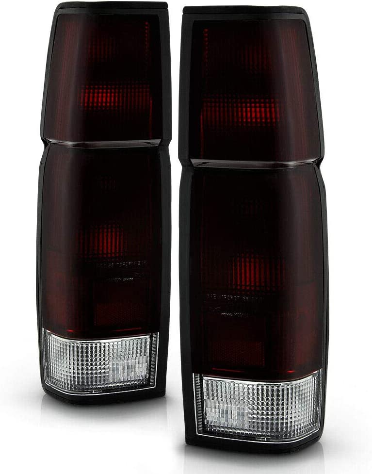 BreaAP Compatible with 1986-1997 Special sale item Nissan Tail Light Red Recommendation Hardbody