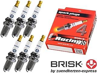 4 pi/èces BRISK Silver DR17YS-9 1463 Bougies dallumage Essence GPL GNV Autogas