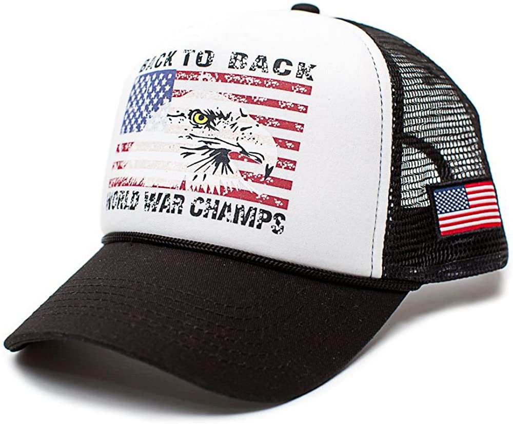 Back Sales for sale To World War Champs -On Eagle Arlington Mall Unisex-Adult Trucker Hat