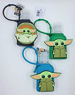 Set of 3 Star Wars Mandalorian - The Child (Baby Yoda) - 1 ounce Hand Sanitizers with Case