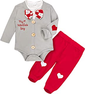 COSLAND Baby Boys 3PCS Gentleman Clothing Outfit