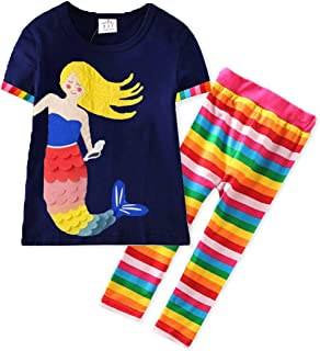 Girls' Clothing Sets Embroidery Long Sleeve Toddler...