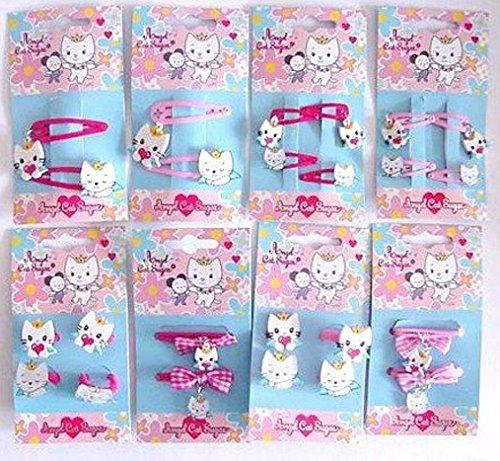 p:os Angel Cat Sugar (Hello Kittty) Haarschmuck 8 verschiedene Sets