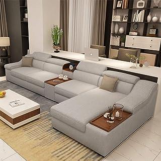 JINPENGRAN Living Room Sofa - Sofa - Fashion Fabric Sofa - Combination Set - Cafe Hotel