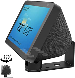 Echo Show 8 Wall Mount stand Aluminum Swivel Stand, Stand for Amazon Echo Show 8, Horizontal 360 Rotation Longitudinal Ang...