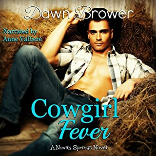 Cowgirl Fever audiobook cover art