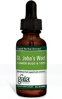 GAIA HERBS St. Johnswort Flower Buds & Tops Supplements, 0.63 Pound
