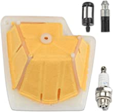 Kaymon 1133-120-1604 Air Filter for Stihl MS270 MS280 MS270C MS280C Chainsaw Replace 1133 120 1604 with Fuel Filter Oil Filter Spark Plug Tune up kit
