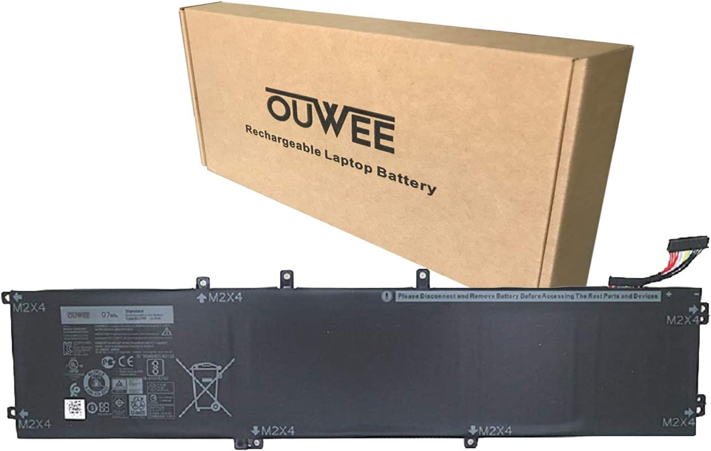 Classic OUWEE 6GTPY Laptop Battery Compatible with 15 9550 Product 9560 XPS Dell