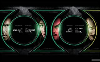 Twenty-three 2011 Green Lantern Movie Fabric Canvas Poster Print 24X36Inch