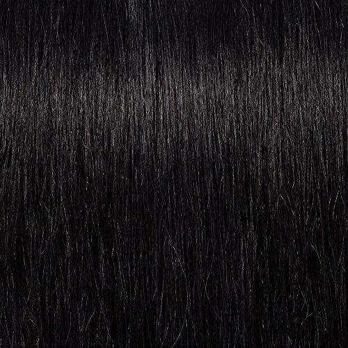 SEGO Extension Capelli Veri Clip Volumizzante 8 Ciocche in Set Ricci Mossi 100% Remy Human Hair Naturali Double Weft 45cm 140g #1 Jet Nero