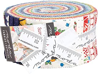 Sweet Harmony Charm Pack by American Jane; 42-5 Inch Precut Fabric Quilt Squares