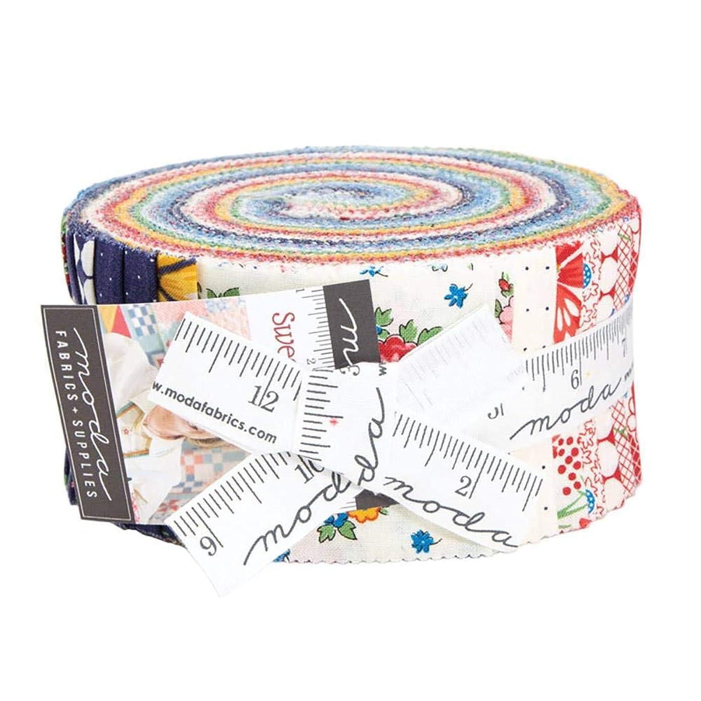 Moda Fabrics Sweet Harmony American Jane Jelly Roll Strips