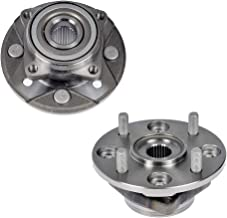 Bodeman - Pair 2 Front Wheel Hub and Bearing Assembly for 1990 1991 1992 1993 1994 1995 1996 1997 Honda Accord - 2.2L Models Only