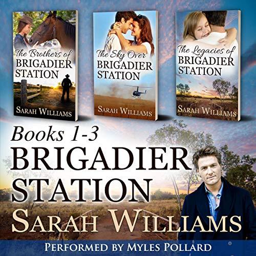 Brigadier Station Books 1-3 cover art