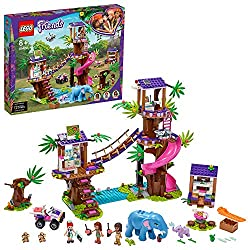 Features at least 4 scenes: a treehouse watchtower and clinic connected by a rope bridge, a jungle hut with picnic area, and a campfire tree This versatile set has everything for young animal rescuers, vets and scientists, with exciting equipment to ...