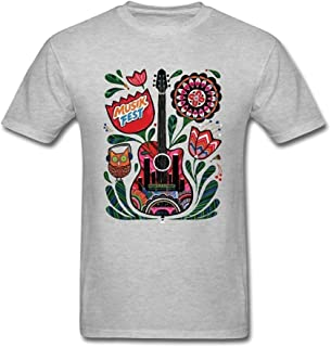 SUNRAIN Men's Musikfest 2016 Poster T Shirt