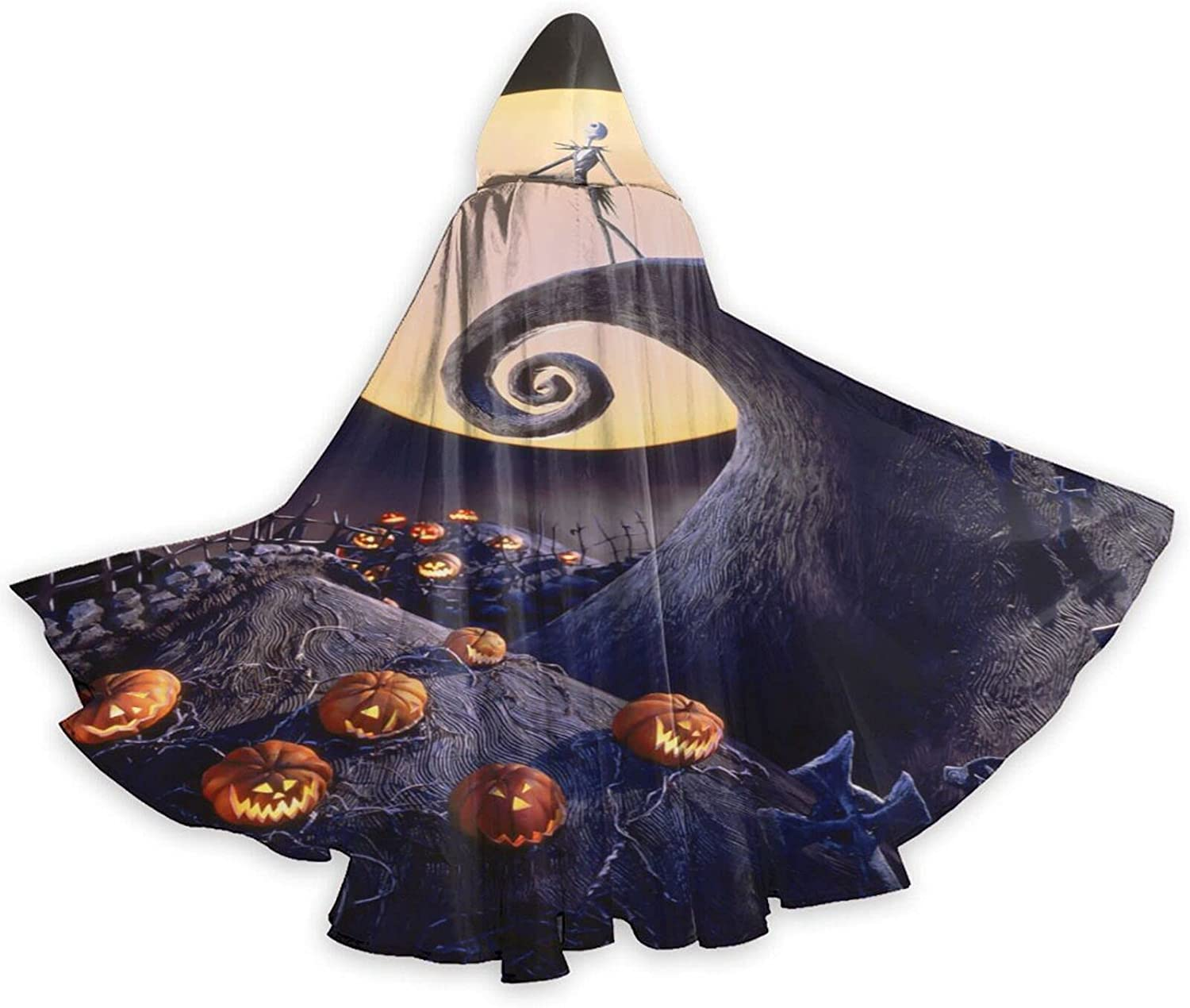 Unisex Night-mare Before Christmas Wizard Hooded Robe Halloween Max 78% OFF Year-end gift